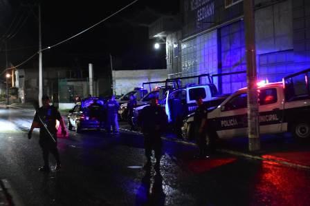 Policía de Zacatelco cierra filas contra la delincuencia con operativos