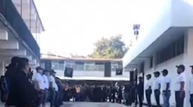 Ultimo pase de lista a policía caído en cumplimiento de su deber
