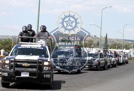 Rescató la policía estatal a persona retenida en Xiloxoxtla