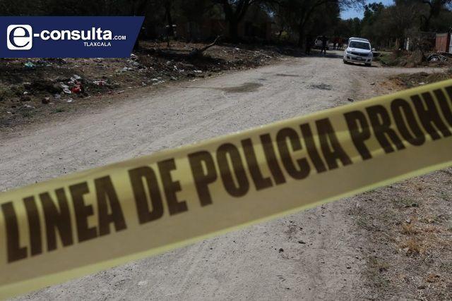 Con huellas de violencia ubican cadáver de masculino en Tetla