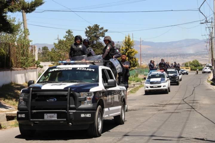 Policías rescatan a presuntos delincuentes retenidos en Nuevos Horizontes