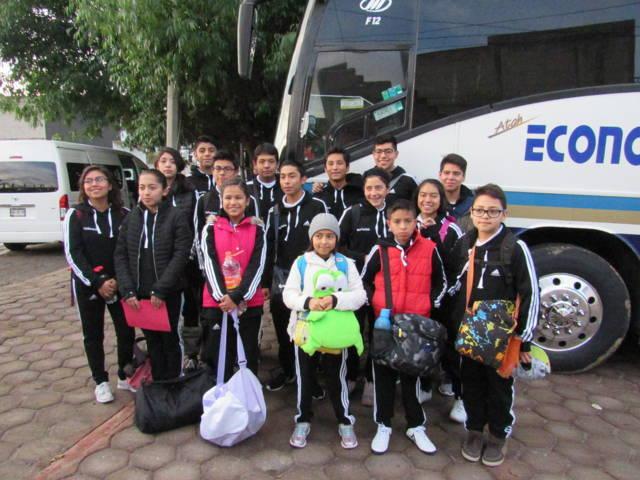 Efectúa delegación de Polideportivo de Tlaxcala convivencia deportiva con IBIME-Ecatepec