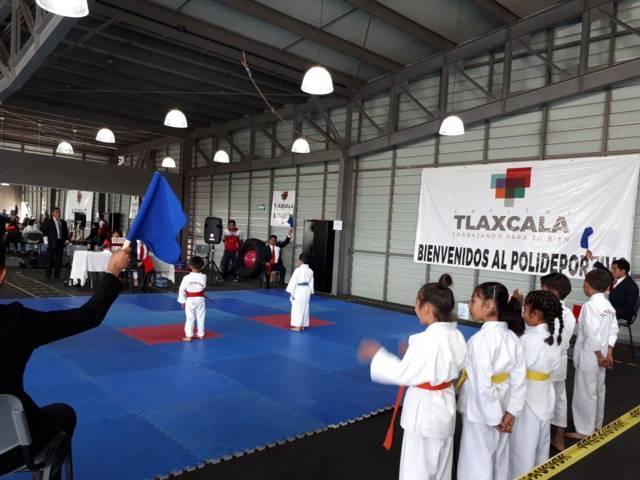 Promueve Polideportivo de Tlaxcala actividades deportivas