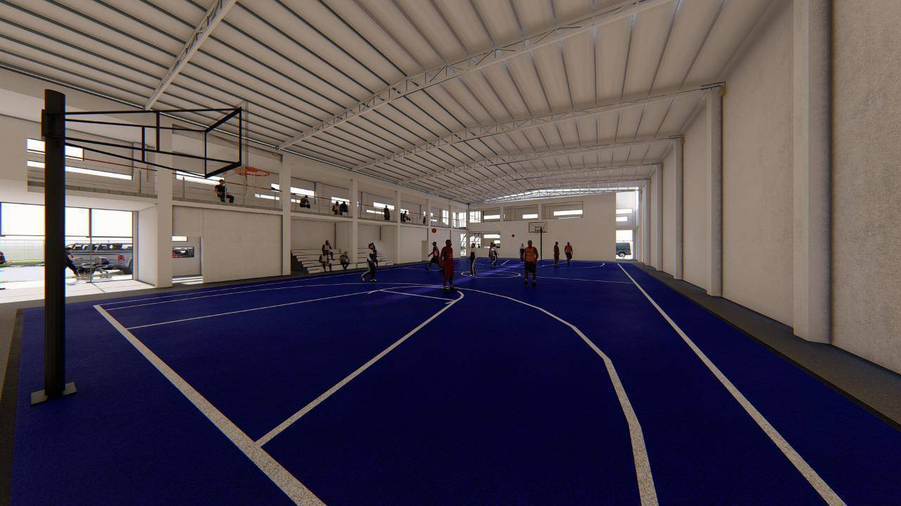 El polideportivo es una realidad en los próximos días inicia su construcción