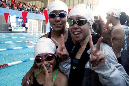 Polideportivo sede de evaluación para conformar selección de natación