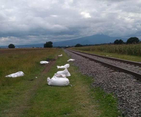 Recupera la CES mercancía del tren en Apizaco