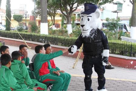 Concluye en Tlaxco semana de prevención del delito