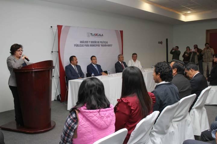Capacita Secretaría de Políticas Públicas a municipios de la Región Norte del Estado