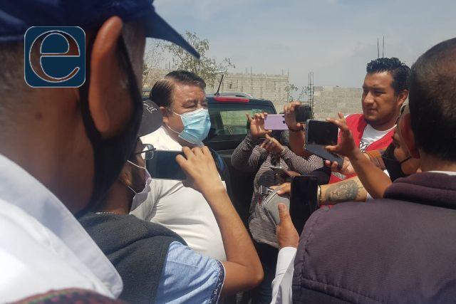 Alcalde Picapiedra politiza colocación de casillas