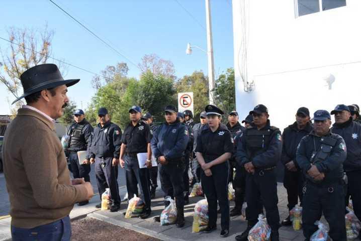 Policias de Zacatelco tendrán aumento de sueldo