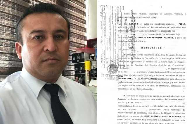 En juicio de Paternidad vencen a Jefe del jurídico de la SEPE-USET, perdió su propio asunto