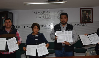 Firma Profepa convenio con empresas que conmutaron multa de casi 200 mil pesos