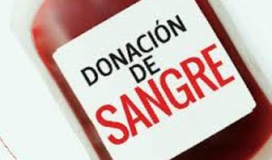 Súmate este 17 de mayo a ser un Donador Voluntario de Sangre: alcalde