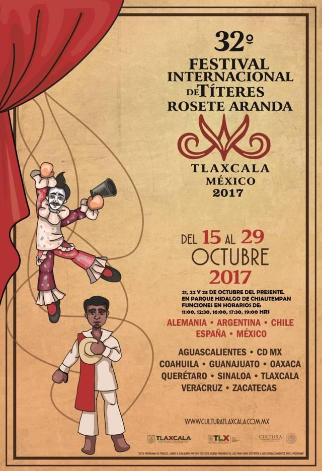 Se presentará 32° Festival Internacional de Títeres en Chiautempan