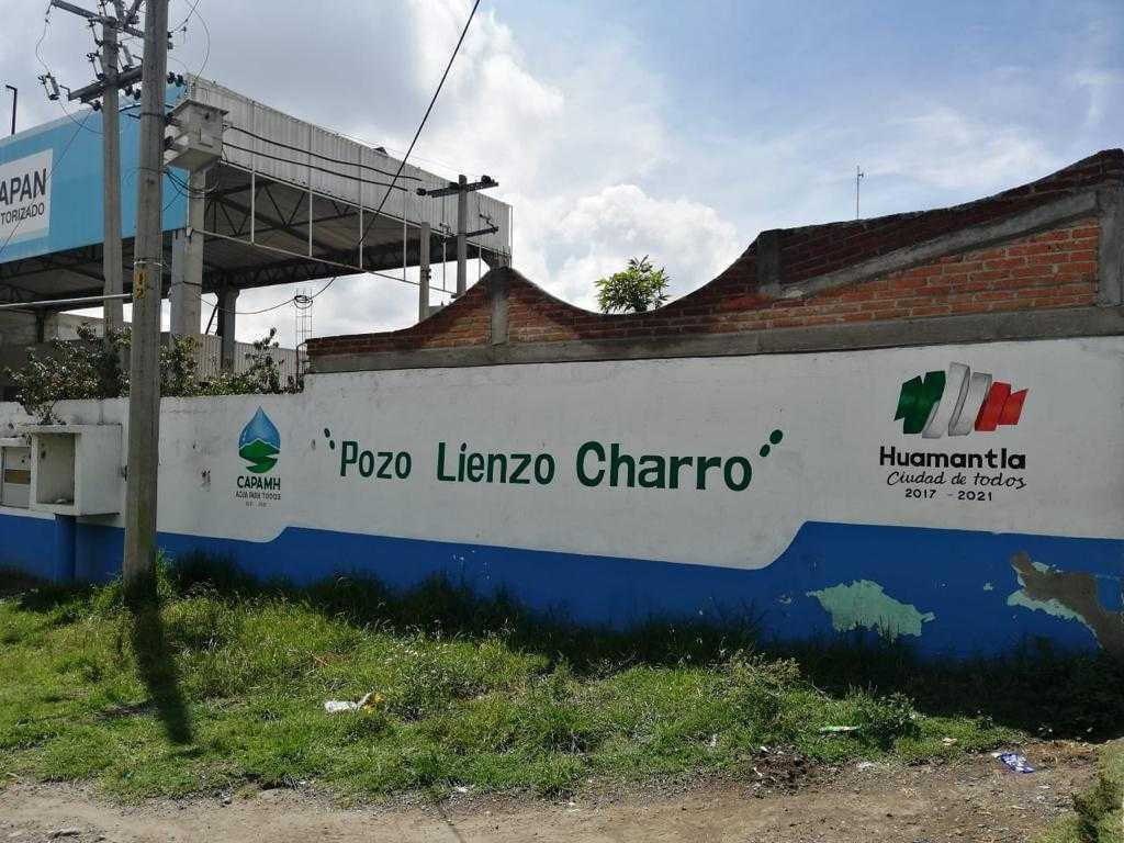 Personal de CAPAMH realiza trabajos de mantenimiento correctivo en el pozo LIENZO CHARRO