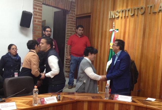 Presumen líderes opositores en Tlaxcala alianza para comicios locales