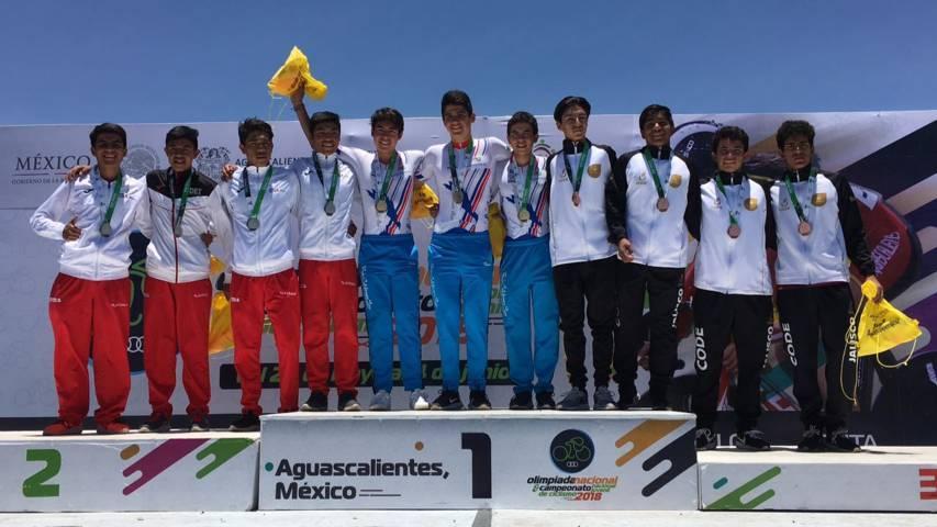"""Triunfa """"Chema"""" en la prueba de ruta de Olimpiada Nacional de ciclismo"""
