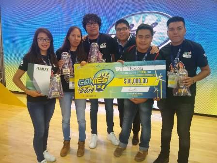 Estudiantes de UTT ganan primer lugar nacional en innovación