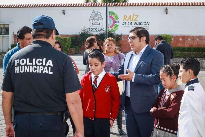 Niño es presidente por un día en Totolac