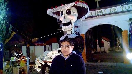 Celebró ayuntamiento de Totolac Noche de Leyendas