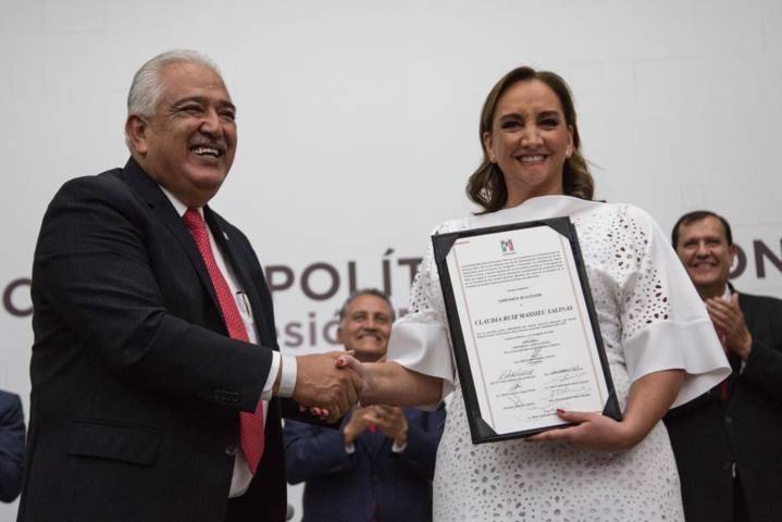 Eligen a Claudia Ruiz Massieu como presidenta del CEN del PRI