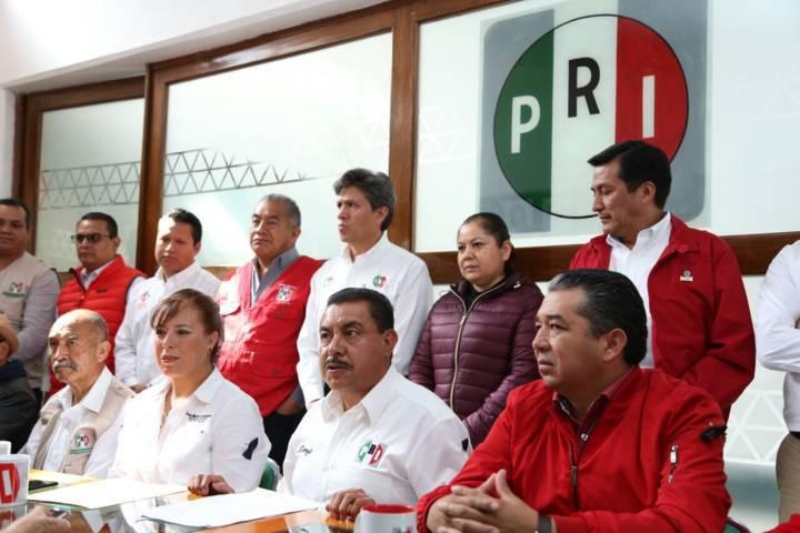Después de tres días, se solidariza el PRI Tlaxcala con los afectados del sismo