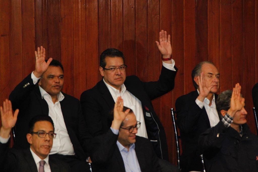 Participa Marco Mena en acuerdos del Consejo Nacional del PRI para la elección de 2018