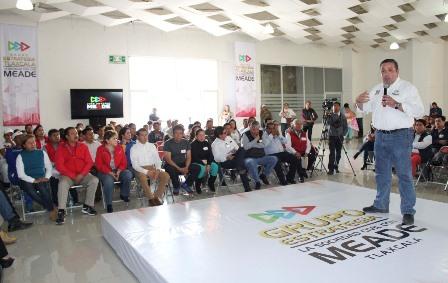 Líderes de izquierda de Tlaxcala se suman a candidatos priistas