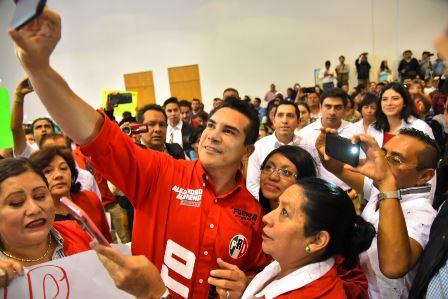 En el PRI hay partido y coraje para ganar: Alejandro Moreno