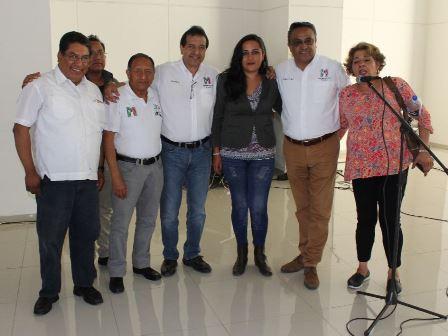 Simpatizantes tlaxcaltecas decepcionados de Morena se suman al PRI