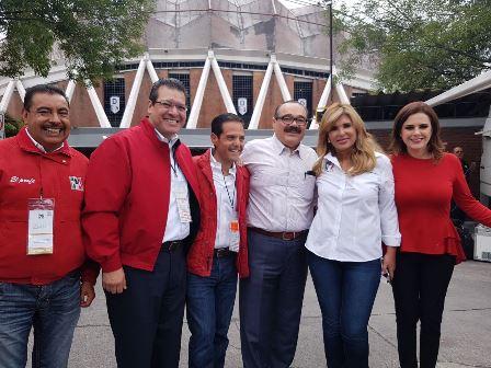 Participa Marco Mena en XXII Asamblea Nacional de PRI