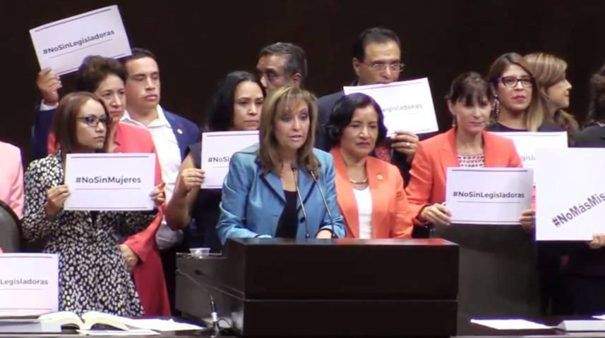 Lorena logra su primer Punto de Acuerdo defendiendo a las mujeres