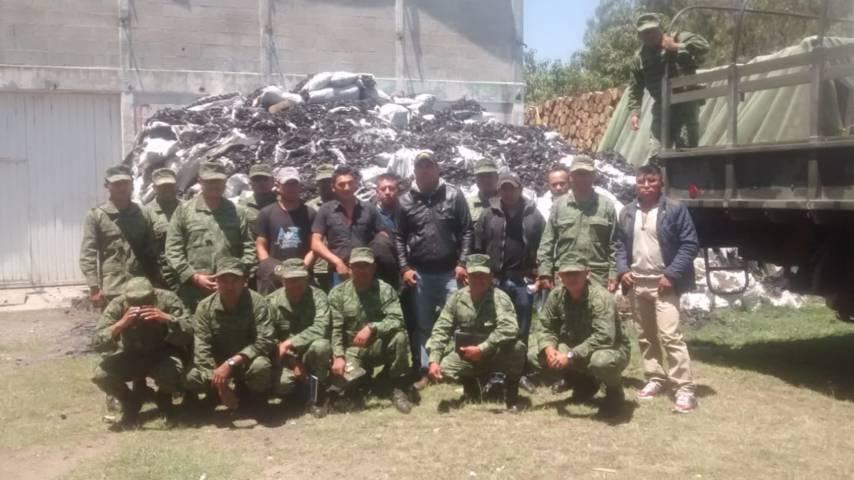 Profepa, capacita a personal de la Sedena para preservar ANP La Malinche