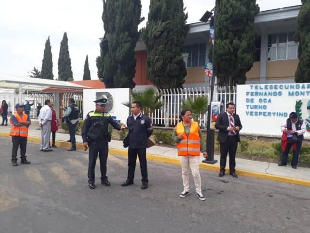 """Ayuntamiento puso en marcha programa """"padre vigilante y vial"""""""