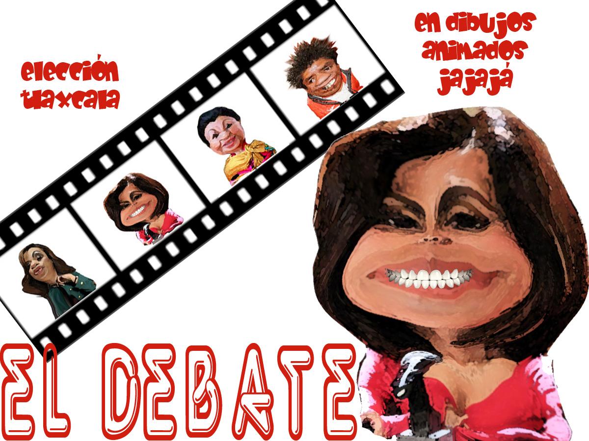 ¡Jajajá, buenísimo!, El debate de los candidatos al gobierno...
