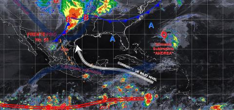 Pronóstico del tiempo en México para martes 21 de mayo del 2019