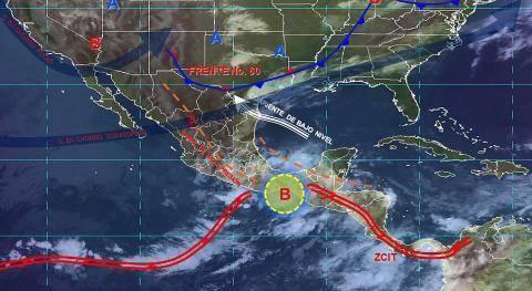 Pronóstico del tiempo en México para viernes 31 de mayo del 2019