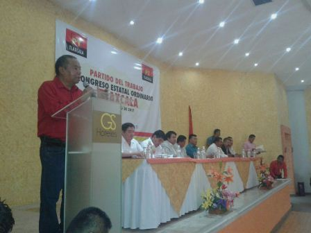 Celebra PT Congreso Estatal Ordinario en Tlaxcala