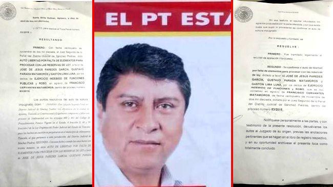 Niega candidato del PT estar sujeto a proceso penal