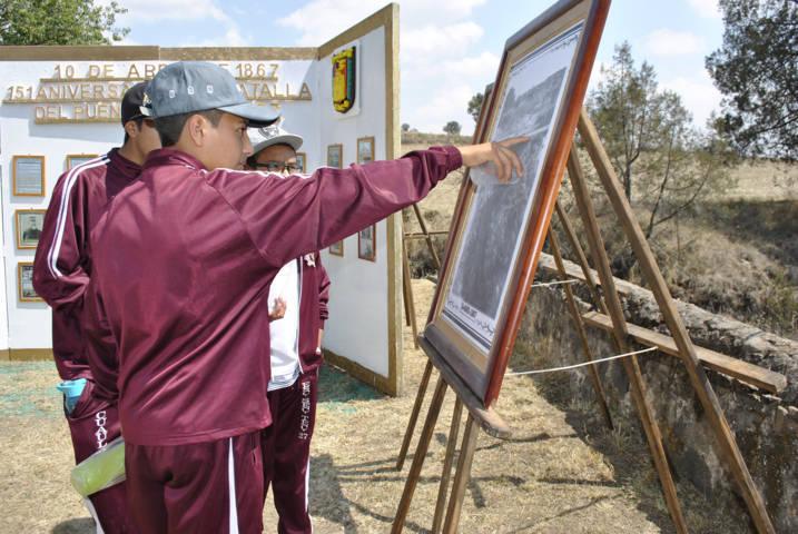 Ayuntamiento conmemoran el 151 aniversario de la Batalla del Puente Márquez