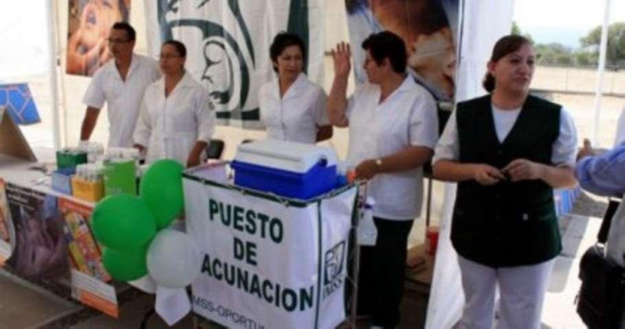 Comienza la Tercera Semana Nacional de Salud en Tlaxcala