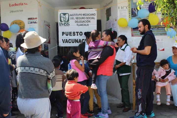 Se exhorta a vacunarse contra la influenza estacional en Tlaxcala