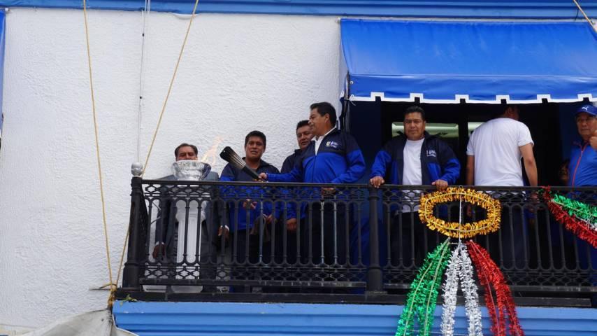 Comienzan los festejos de las fiestas patrias en San Pablo del Monte