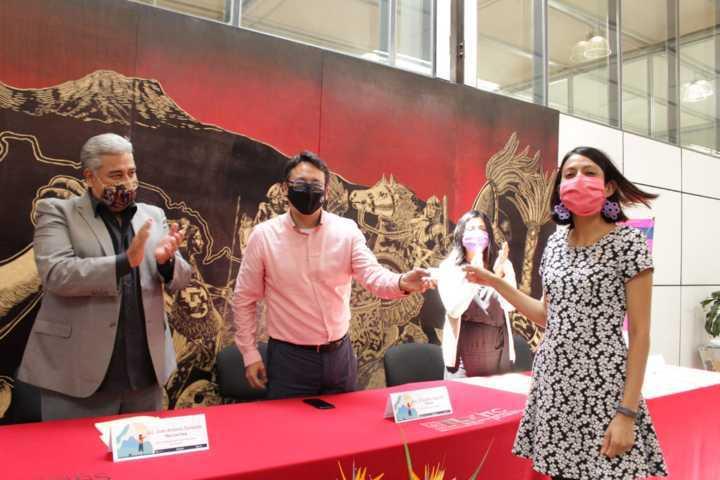 Entrega ITC apoyos económicos a Mujeres En El Arte Y La Cultura