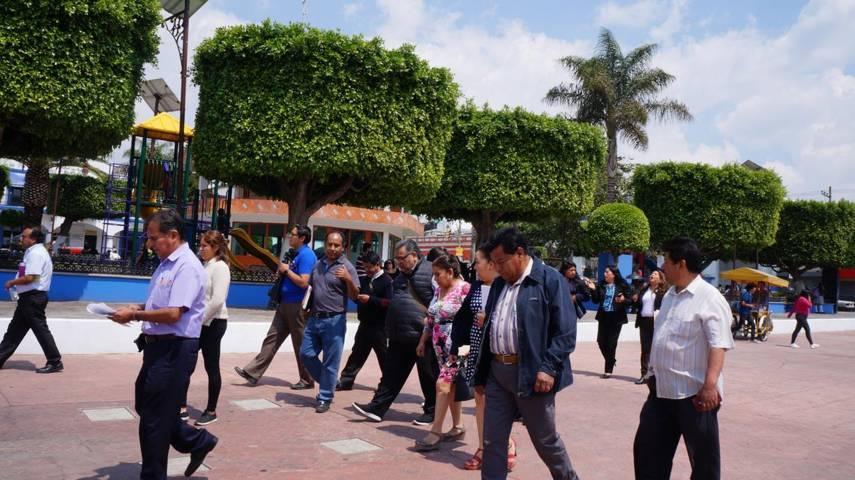 San Pablo del Monte recibe visita técnica de Sectur Federal