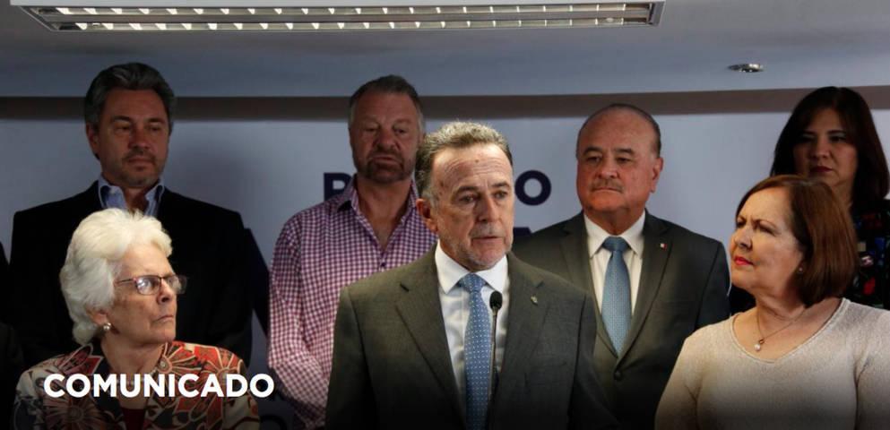 Cierran filas liderazgos panistas entorno a Ricardo Anaya, dirigen carta a mexicanos