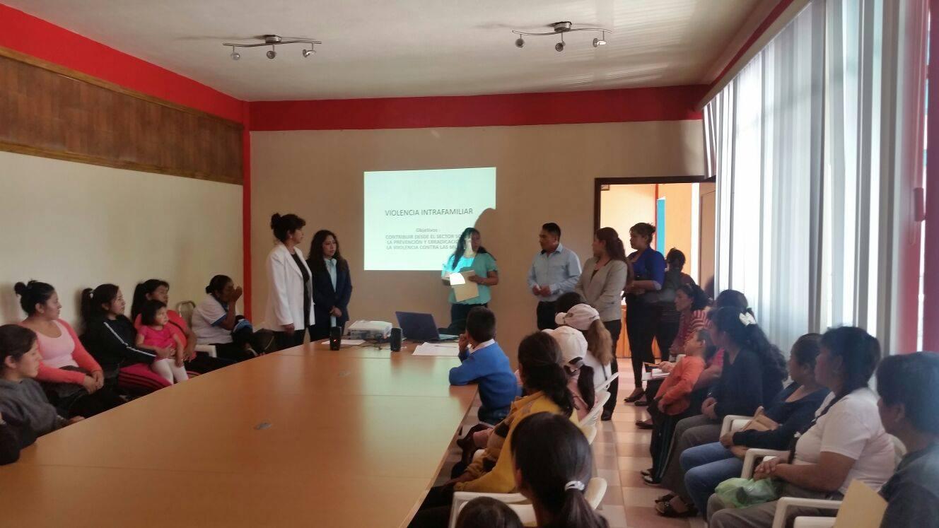 Ejecuta Santa Cruz Quilehtla acciones para la igualdad