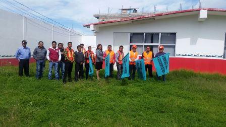 Alcalde mejora infraestructura educativa del jardín de niños de Ayometitla