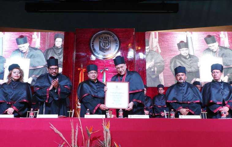 Otorga la UAT Doctorado Honoris Causa a Eugenio Raúl Zaffaroni