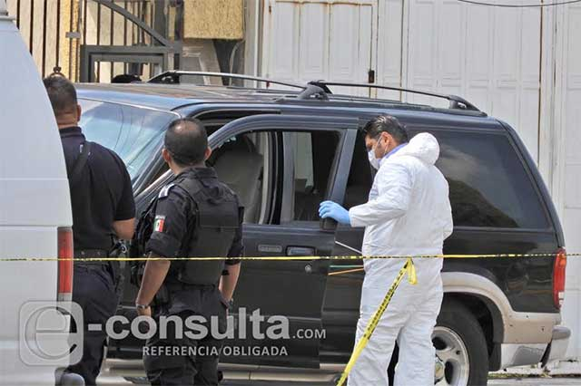 A quemarropa, disparan y matan a automovilista en San Pedro Cholula